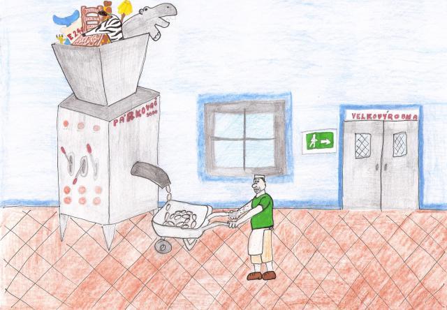 Velkovýrobna (Pavla, 11 let)